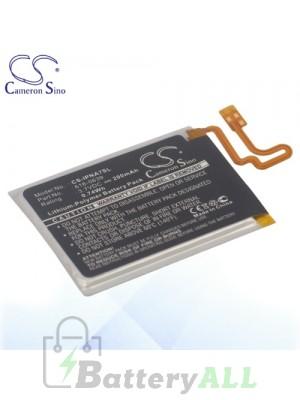 CS Battery for Apple 616-0639 616-0640 Apple iPod Nano 7 7th Battery IPNA7SL