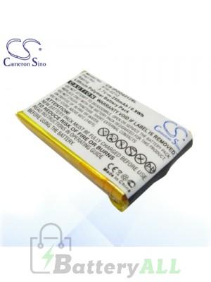 CS Battery for Apple 616-0212 / Apple iPod Shuffle Battery IPOD0212SL