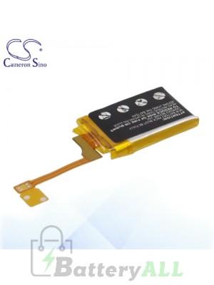 CS Battery for Apple 616-0429 Apple iPod shuffle 3rd generation Battery IPSF3SL