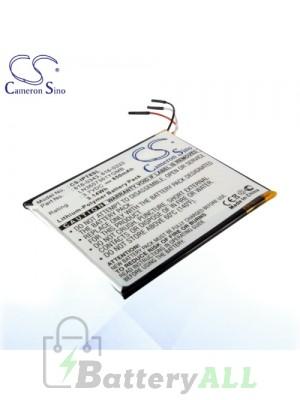 CS Battery for Apple 07-001-01 / 616-0333 / 616-0341 / 616-0343 Battery IPT8SL