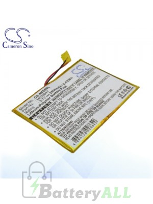 CS Battery for Archos M02864T / Archos 5 60GB Battery AVS5SL