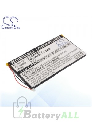 CS Battery for Cowon PMP A2 20GB 30GB / A3 60GB 80GB Battery CWA2SL