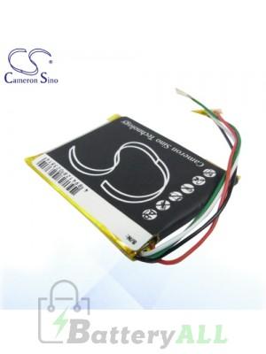 CS Battery for Microsoft Zune HSA-00001 HSA-00003 HSA-00005 Battery MZF4SL