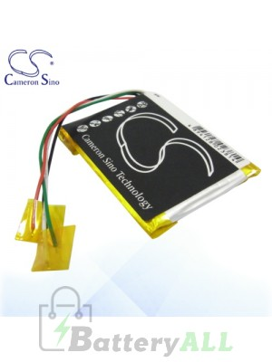 CS Battery for Microsoft Zune HSA-00026 HSA-00028 HSA-00029 Battery MZF4SL