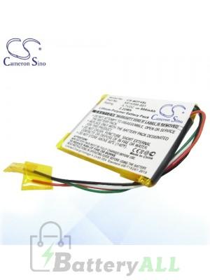CS Battery for Microsoft Zune HVA-00030 / N59774 / N59777 Battery MZF4SL