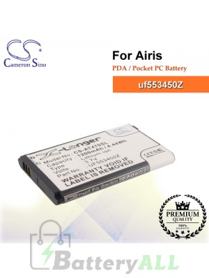 CS-AT470SL For Airis PDA / Pocket PC Battery Model uf553450Z