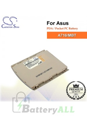 CS-A716SL For Asus PDA / Pocket PC Battery Model A716/MBT