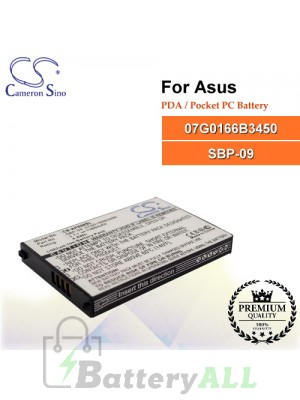 CS-AP696SL For Asus PDA / Pocket PC Battery Model 07G0166B3450 / SBP-09