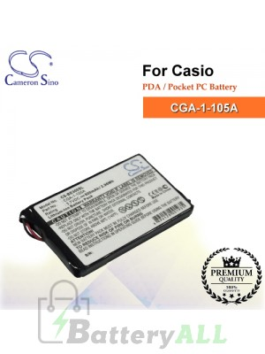 CS-BE300SL For Casio PDA / Pocket PC Battery Model CGA-1-105A