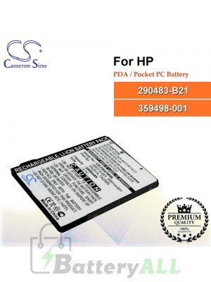 CS-HX4700SL For HP PDA / Pocket PC Battery Model 290483-B21 / 359498-001