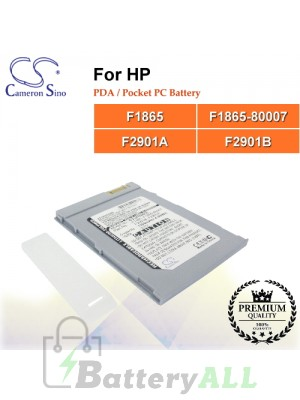 CS-JR560SL For HP PDA / Pocket PC Battery Model F1865 / F1865-80007 / F2901A / F2901B