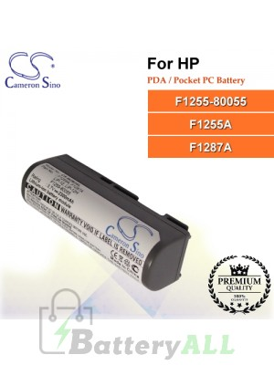 CS-MZB3SL For HP PDA / Pocket PC Battery Model F1255-80055 / F1255A / F1287A