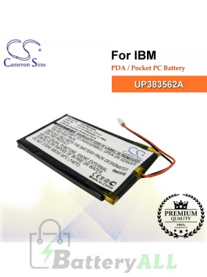 CS-PM500SL For IBM PDA / Pocket PC Battery Model UP383562A
