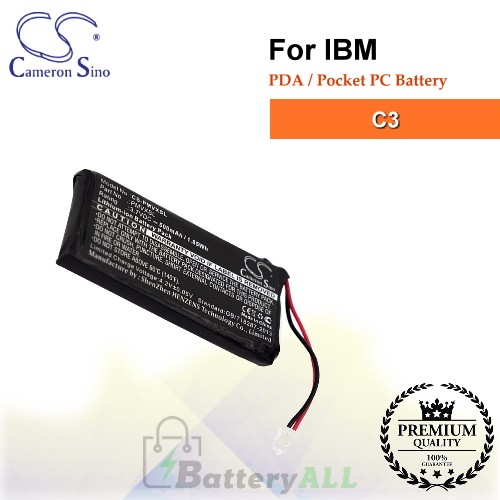 CS-PMVXSL For IBM PDA / Pocket PC Battery Fit Model C3