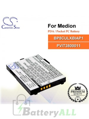 CS-MIO339SL For Medion PDA / Pocket PC Battery Model BP8CULXBIAP1 / PVIT3800011