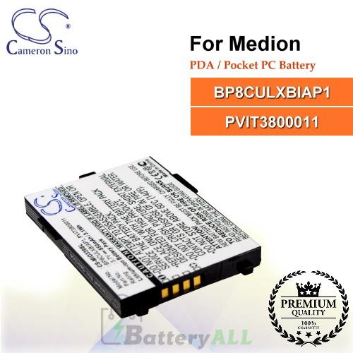 CS-MIO339SL For Medion PDA / Pocket PC Battery Model BP8CULXBIAP1 / PVIT3800011