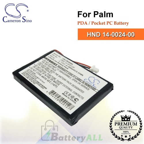 CS-JR300SL For Palm PDA / Pocket PC Battery Model HND 14-0024-00