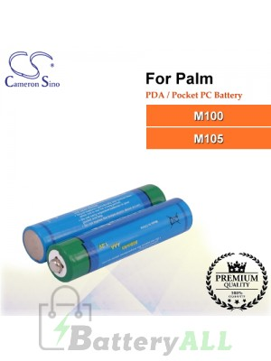CS-PM105SL For Palm PDA / Pocket PC Battery Fit Model M100 / M105
