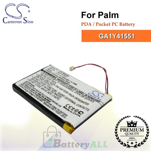 CS-PME2SL For Palm PDA / Pocket PC Battery Model GA1Y41551