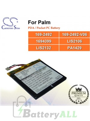 CS-PMI705SL For Palm PDA / Pocket PC Battery Model 169-2492 / 169-2492-V06 / 1694399 / LIS2106 / LIS2132 / PA1429