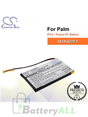 CS-PMT5SL For Palm PDA / Pocket PC Battery Model IA1XA27F1