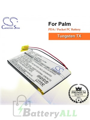 CS-PMTXSL For Palm PDA / Pocket PC Battery Fit Model Tungsten TX