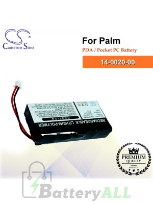 CS-VPROSL For Palm PDA / Pocket PC Battery Model 14-0020-00