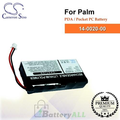 CS-VPROSL For Palm PDA / Pocket PC Battery Model 14-0020-00