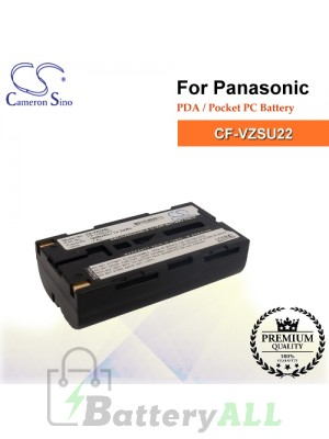 CS-VZ22SL For Panasonic PDA / Pocket PC Battery Model CF-VZSU22