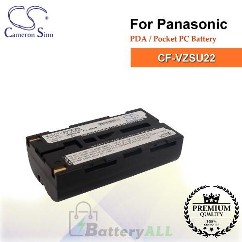 CS-VZ22SL For Panasonic PDA / Pocket PC Battery Model CF-VZSU22