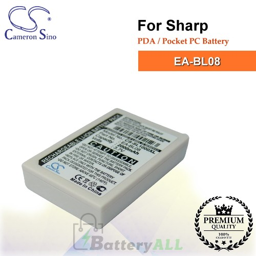 CS-SL1000XL For Sharp PDA / Pocket PC Battery Model EA-BL08