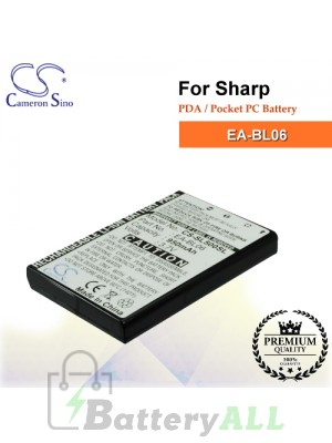 CS-SL500SL For Sharp PDA / Pocket PC Battery Model EA-BL06