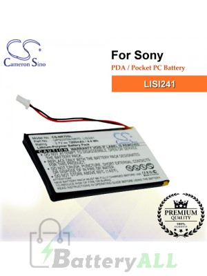 CS-NR70SL For Sony PDA / Pocket PC Battery Model LISI241