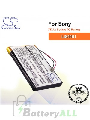 CS-S500SL For Sony PDA / Pocket PC Battery Model LIS1161