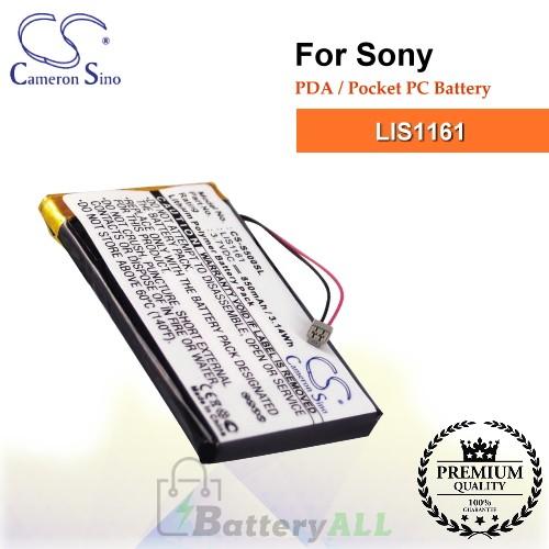CS-S500SL For Sony PDA / Pocket PC Battery Model LIS1161