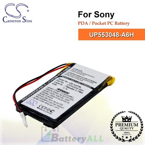 CS-TJ27SL For Sony PDA / Pocket PC Battery Model UP553048-A6H