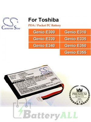 CS-E300SL For Toshiba PDA / Pocket PC Battery Model LAB503759C