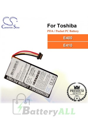 CS-E400SL For Toshiba PDA / Pocket PC Battery Model LAB503759C
