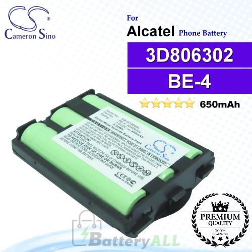 CS-OT300SL For Alcatel Phone Battery Model BE-4 / 3D806302