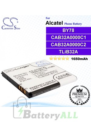 CS-OT991XL For Alcatel Phone Battery Model TLiB32A / CAB32A0000C2 / BY78 / CAB32A0000C1