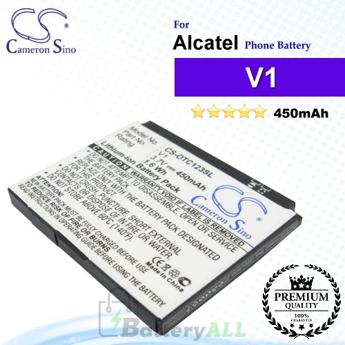 CS-OTC123SL For Alcatel Phone Battery Model V1
