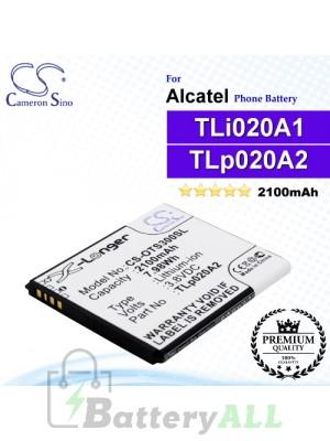 CS-OTS300SL For Alcatel Phone Battery Model TLp020A2 / TLi020A1