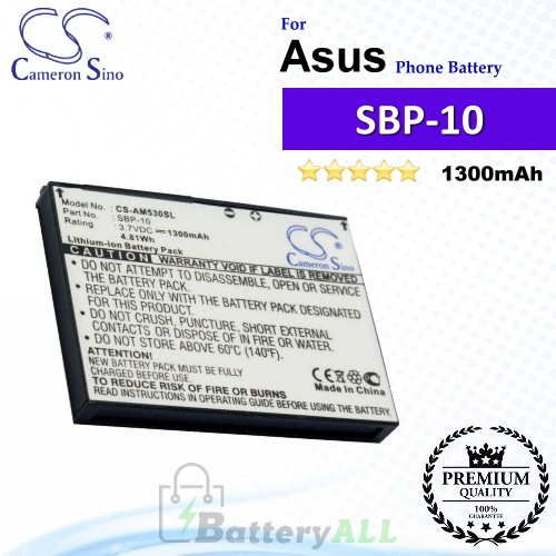 CS-AM530SL For Asus Phone Battery Model SBP-10