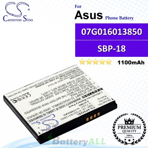 CS-AP552SL For Asus Phone Battery Model SBP-18