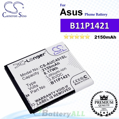 CS-AUC451SL For Asus Phone Battery Model 0B200-00570300 / B11P1421 / C11P1421