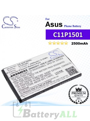CS-AUF200SL For Asus Phone Battery Model 0B200-01770200 / C11P1501