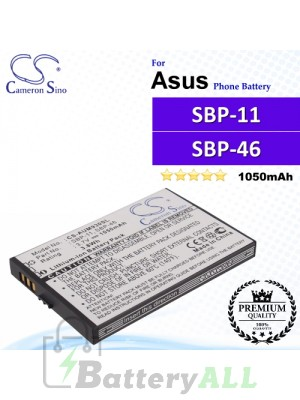 CS-AUM930SL For Asus Phone Battery Model SBP-11 / SBP-46