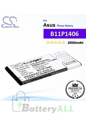 CS-AUT005SL For Asus Phone Battery Model 0B200-01110000 / B11P1406
