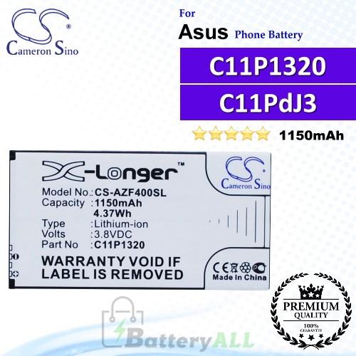 CS-AZF400SL For Asus Phone Battery Model C11P1320 / C11PdJ3