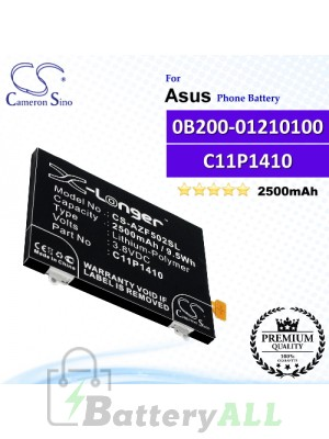 CS-AZF502SL For Asus Phone Battery Model 0B200-01210100 / C11P1410
